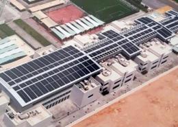 Royal Flight School PV Plant. Energetus